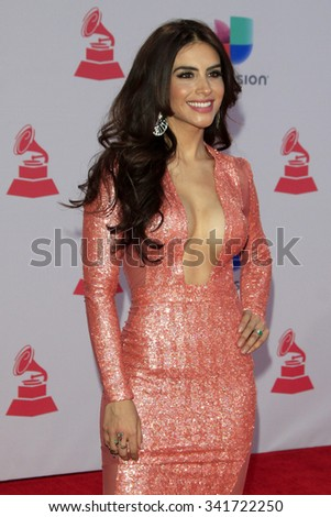 LAS VEGAS - NOV 19:  Jessica Cediel at the 16th Latin GRAMMY Awards at the MGM Grand Garden Arena on November 19, 2015 in Las Vegas, NV - stock photo