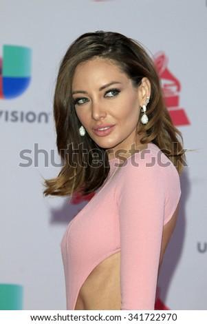 LAS VEGAS - NOV 19:  Patricia Zavala at the 16th Latin GRAMMY Awards at the MGM Grand Garden Arena on November 19, 2015 in Las Vegas, NV - stock photo