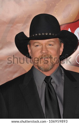 LAS VEGAS, NV - DECEMBER 6, 2010: Trace Adkins at the 2010 American Country Awards at the MGM Grand Garden Arena, Las Vegas..