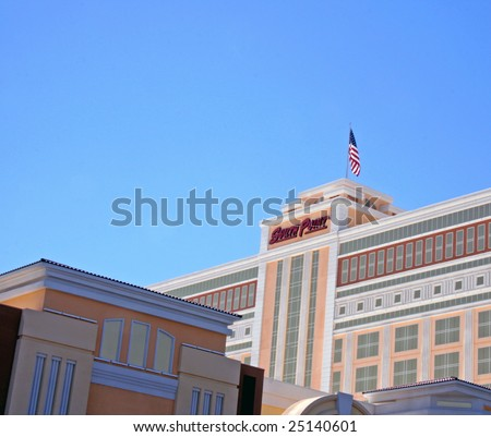 exterior shutters las vegas. las vegas, nv - sept 01: and exterior shot of the south point hotel shutters vegas a