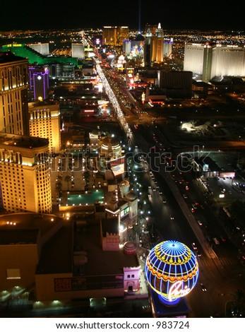 Las Vegas Strip - South - stock photo