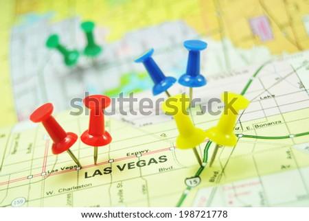 Las Vegas, the city of weddings - stock photo