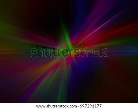 Laser light netting
