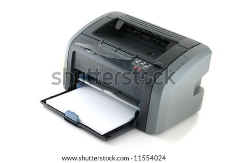 Laser printer - stock photo