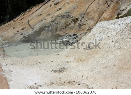 Lassen Volcanic National Park hydrothermal activity