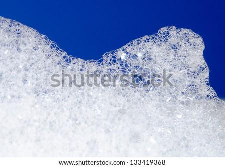 lather macro - stock photo