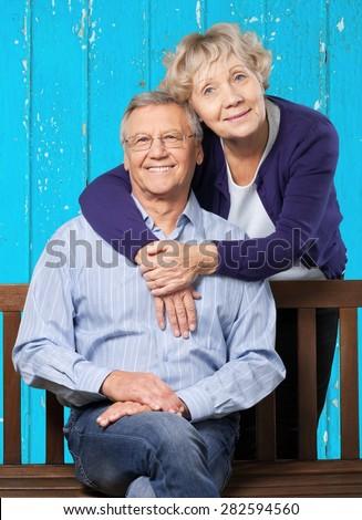 Latin American and Hispanic Ethnicity, Senior Adult, Couple. - stock photo