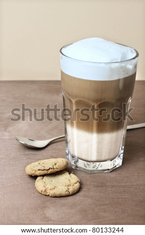 Latte Macchiato - stock photo