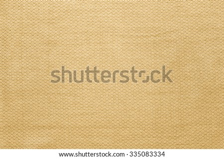 Latte, Soft orange fabric wallpaper texture background.