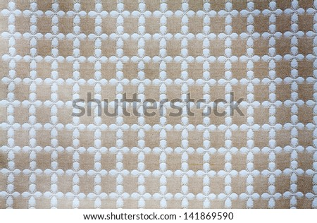 lattice of the Fabric texture for background - stock photo