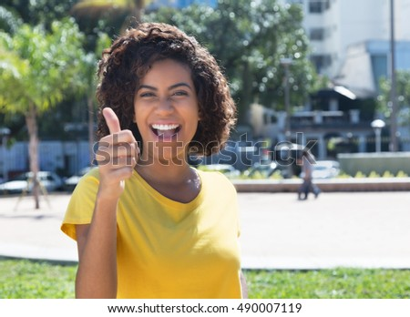 Brazilian girl thumb
