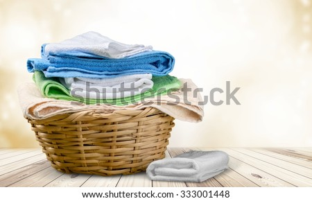 Laundry. - stock photo