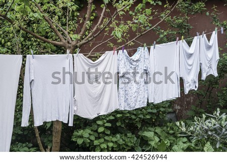 laundry - stock photo