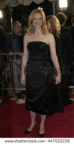 Laura Linney at the Los Angeles premiere of 'Kinsey' held at the Mann Village Theater in Westwood, USA on November 8, 2004.