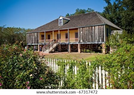 Laura Plantation House - stock photo