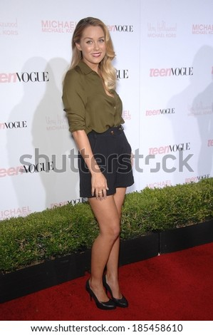 Lauren Conrad at Teen Vogue 8th Annual Young Hollywood Party, The Studios at Paramount, Los Angeles, CA October 1, 2010 - stock photo