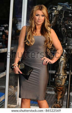 "Lauren Goodger arrives for the ""Real Steel"" premiere at the Empire Leicester Square, London. 14/09/2011  Picture by: Steve Vas / Featureflash"