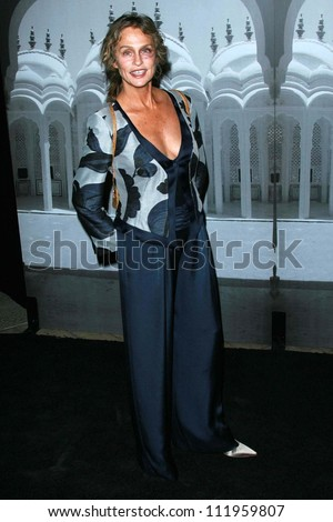 Lauren Hutton at the Giorgio Armani Prive Show to celebrate the Oscars. Green Acres, Los Angeles, CA. 02-24-07