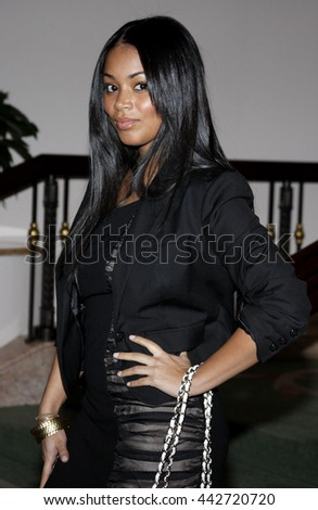 Lauren London at the Essence Black Women in Hollywood Luncheon held at the Beverly Hills Hotel in Beverly Hills, USA on February 19, 2009. - stock photo