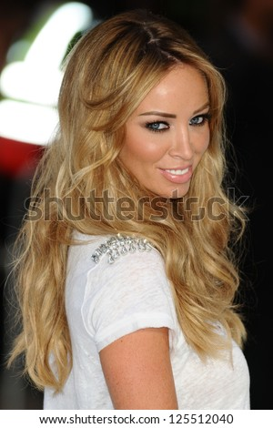 Lauren Pope arriving for the Total Recall Premiere, at Vue West End, Leicester Square, London. 16/08/2012 Picture by: Steve Vas