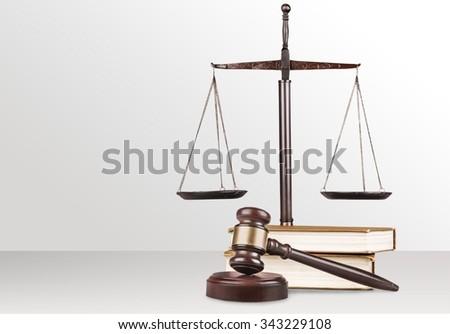 Law. - stock photo