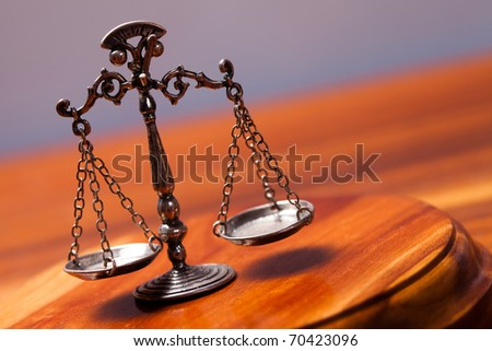 Law - stock photo