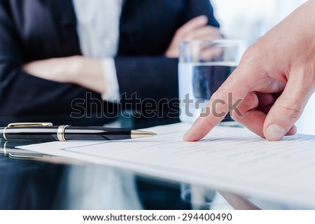 Law, court, paper. - stock photo