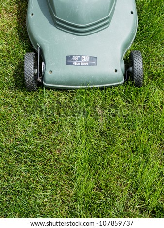 Lawn mower background