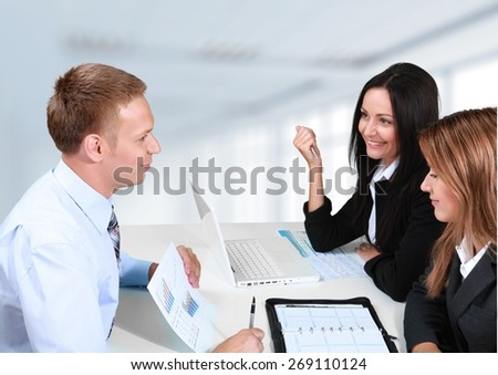 Lawyer. Financial planning consultation - stock photo