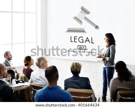 Lawyer Legal Advice Law Compliance Concept - stock photo