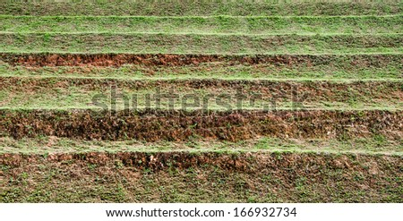 Layer of soil for agriculture - stock photo