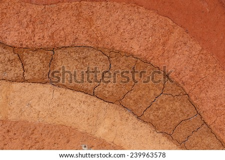 Earth crust stock photos images pictures shutterstock for Nature and composition of soil