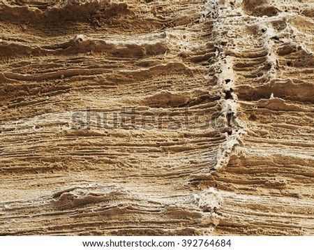 Layers of earth background      - stock photo