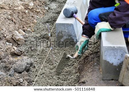 Concrete Curb Stock Images Royalty Free Images Amp Vectors