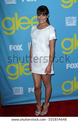 "Lea Michele at the ""Glee"" Academy Screening, Leonard H. Goldenson Theater, North Hollywood, CA 05-01-12"