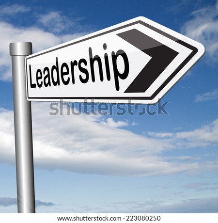 leadership in business and market follow the leader - stock photo