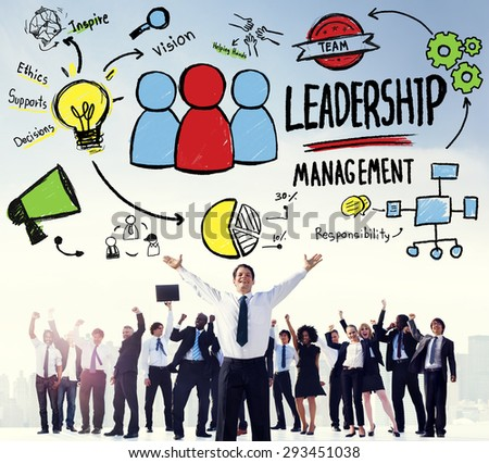 Leadership Leader Management Authority Director Concept - stock photo