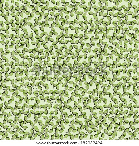leaf green background. Seamless pattern can be used for wallpaper, pattern fills, web page background,surface textures.  seamless floral background - stock photo