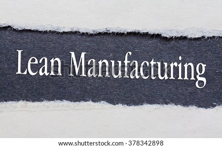 lean manufacturing master thesis Lean manufacturing or lean production triumph of the lean production system, based on his master's thesis at the mit sloan school of management.