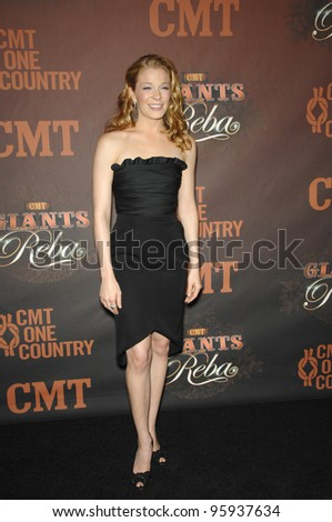 LEANN RIMES at the first CMT Giants concert honoring country star Reba McEntire, at the Kodak Theatre, Hollywood. October 26, 2006  Los Angeles, CA Picture: Paul Smith / Featureflash