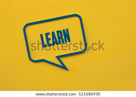 Learn, Education Concept