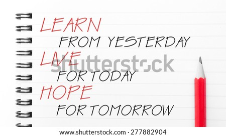 Yesterday Today And Tomorrow Stock Images, Royalty-Free ...