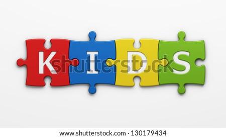 learn kids - stock photo