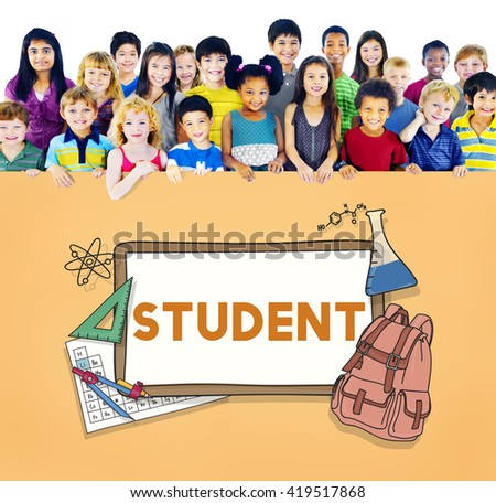 Learn Kids Camp Student Education Concept - stock photo