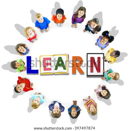 Learn Study Education School Knowledge Concept - stock photo