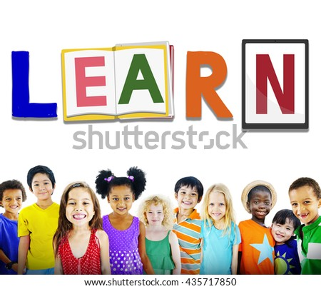 Learng Study Education School Knowledge Concept - stock photo