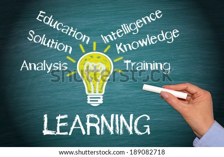 Learning - Business and Education Concept - stock photo