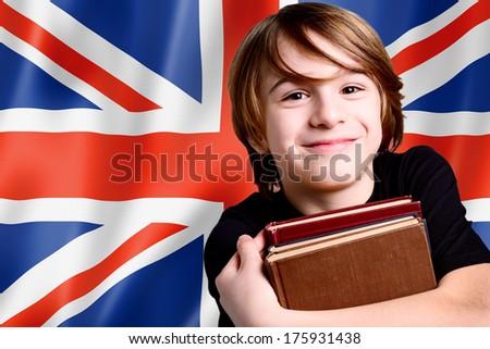 learning english language - stock photo