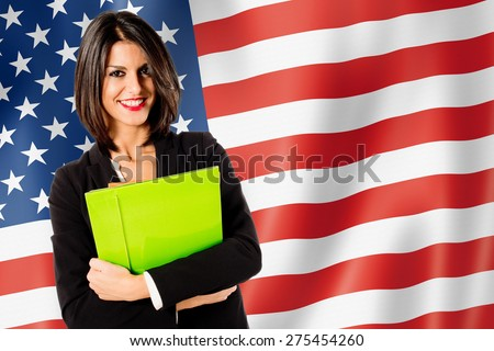 learning english language - stock photo