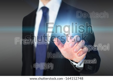 learning english, language school concept - stock photo